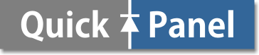 QuickPanel logo